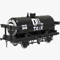 Wagon Oil Tank