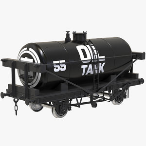3D wagon oil tank