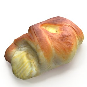 3D cheese roll