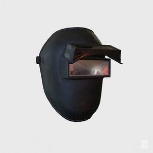 3D welding helmet - mask