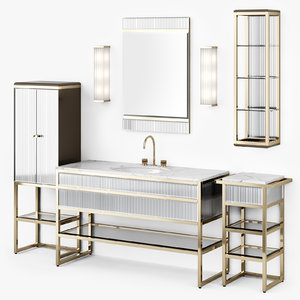 3D furniture bathroom oasisgroup