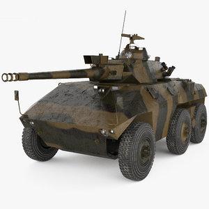 3D ee-9 cascavel ee model