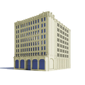 library building model