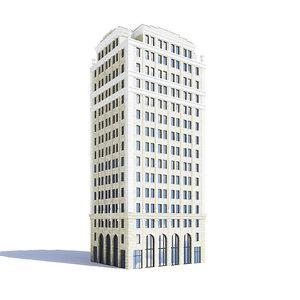 tall building 3D model