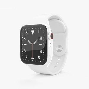 apple watch 5 3D model