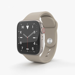 apple watch 5 3D model