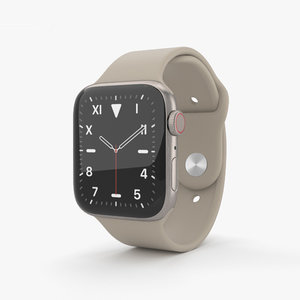 3D apple watch 5 model
