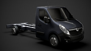 vauxhall movano singlecab sw model