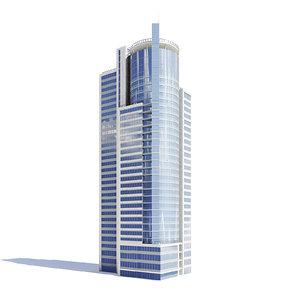 skyscraper helipad 3D