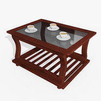 Wooden Teapoy Table