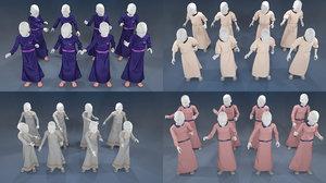 girl mannequin 3D model