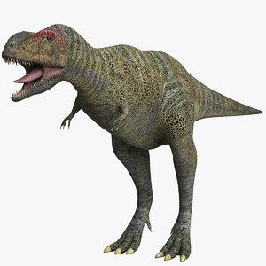 aucasaurus dinosaurs dino 3D
