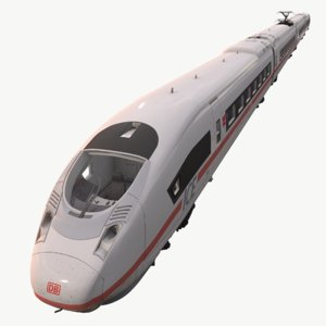 real-time velaro ice 3 3D model