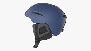 snowboard ski helmet 3D model