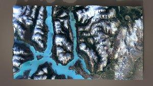 mountain landscape 3D