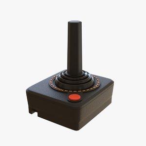 3D model controller atari