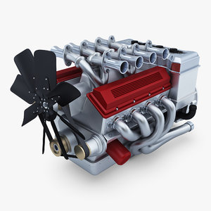 3D generic engine v8