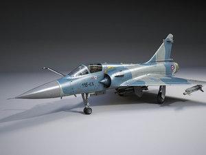 3D mirage 2000 dassault model