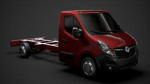 vauxhall movano singlecab sw 3D model