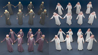Man static arabic 4 x different models 32 poses