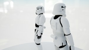 3D stormtrooper rigged