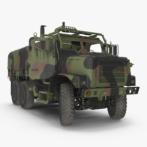 vehicle rigged 3D model