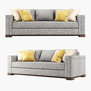 3D sofa perry sectional