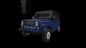 uaz 315 3D model