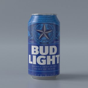 3D model budweiser light