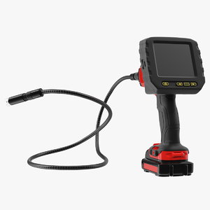3D inspection camera generic rigged