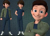 CARTOON TEENAGE BOY - RIGGED(1)