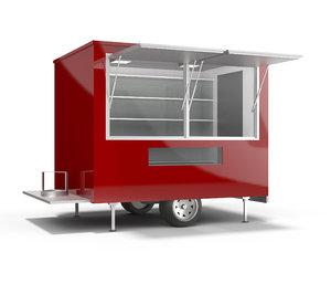 3D mobile kiosk