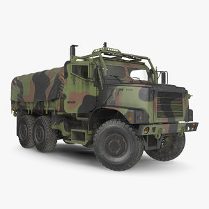3D medium tactical vehicle 6x6