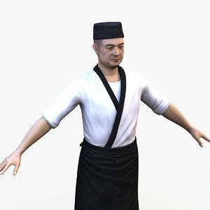 sushi master 3D
