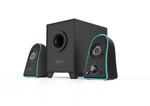 3D 2 1-multimedia speaker printing model