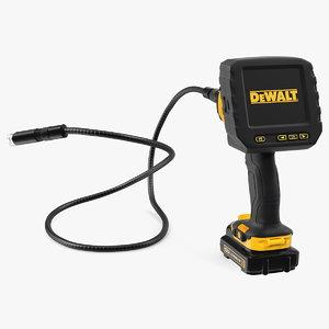 3D dewalt dct410n inspection camera model