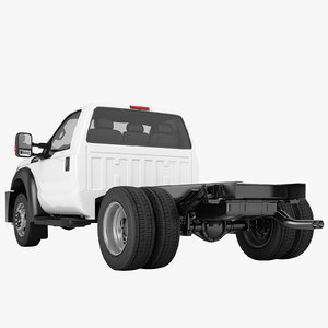 3D f450 truck chassis