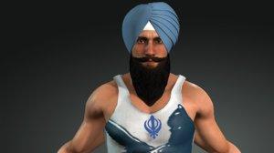 sikh turban - patiala model