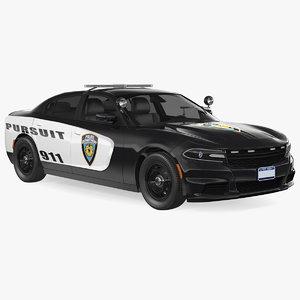 police car generic model