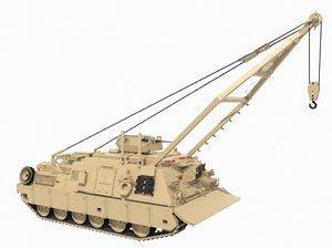 hercules tank 3D model