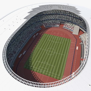 3D model tokyo national olympic stadium