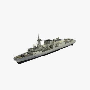 updated halifax class model