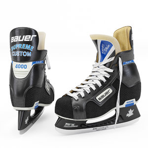 3D model realistic bauer supreme custom