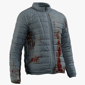 realistic mens jacket 3 3D