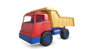 3D model toy truck games