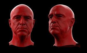 vito brando head 3D model