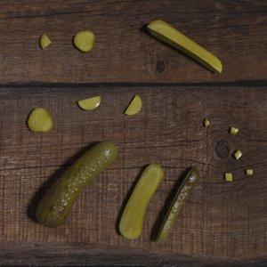 3D scene pickles cucumber 34