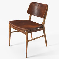 Nissa Chair Damaged Brown
