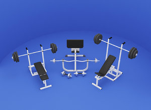 3D machines gym