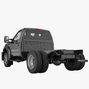 f450 truck chassis 3D model